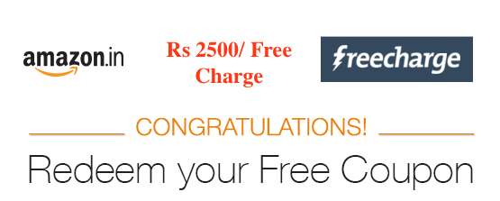 acfb53c2626895 Free Recharge Coupon from Amazon India   Deals with Coupons