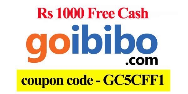 Discount coupons on goibibo
