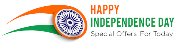 independence day offers online