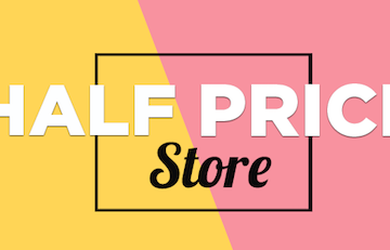 Snapdeal Half Price Store – 50% OFF for Every Item
